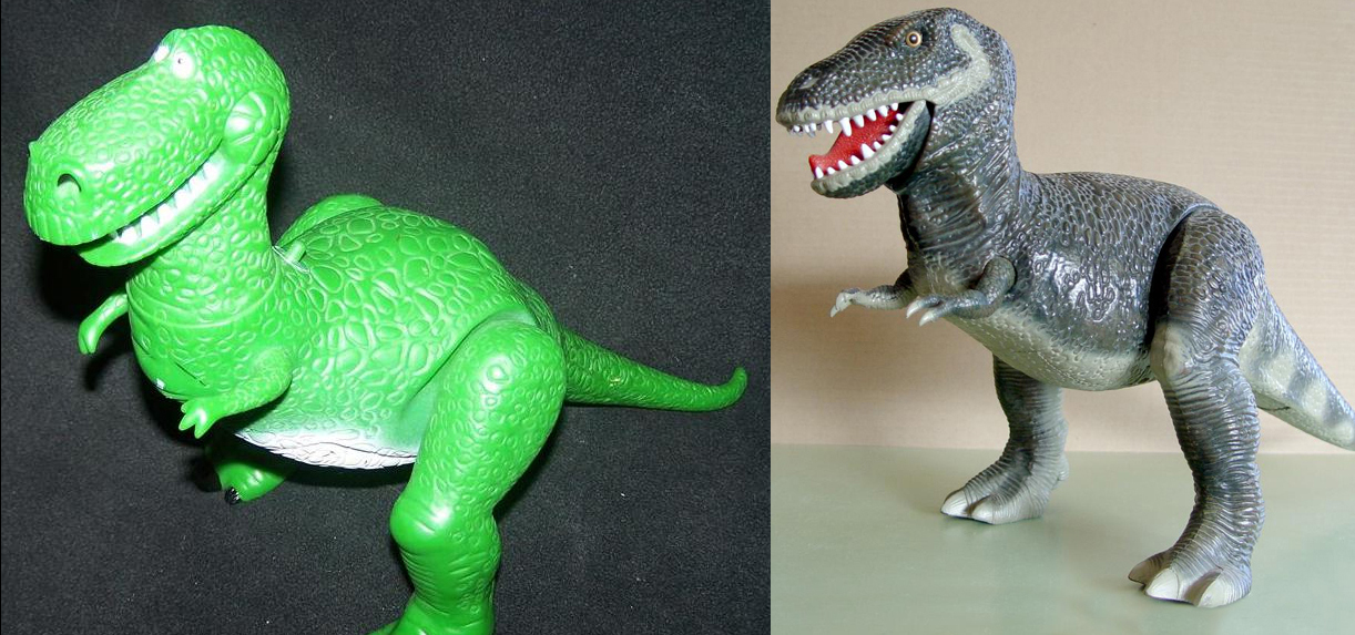 Special features pop culture references - Dinosaure toy story ...
